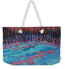 Morning Forest Weekender Tote Bag