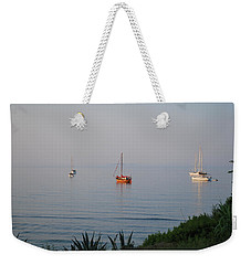 Weekender Tote Bag featuring the photograph Morning by George Katechis