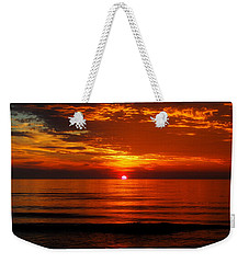 Morning Glory Weekender Tote Bag by Mim White
