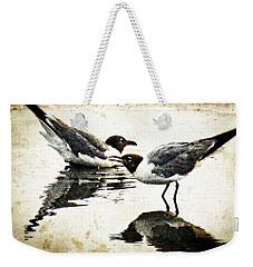 Morning Gulls - Seagull Art By Sharon Cummings Weekender Tote Bag