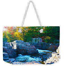 Morning In Eau Claire Dells Weekender Tote Bag