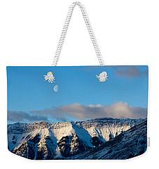 Morning In Mountains Weekender Tote Bag