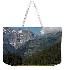 Morning In The Alps Weekender Tote Bag
