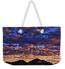 Morning In The Mountains Weekender Tote Bag by Don Schwartz