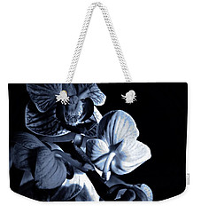 Morning Light Orchids Cyan Weekender Tote Bag