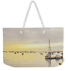Morning Light Rockland Maine Weekender Tote Bag by Marianne Campolongo