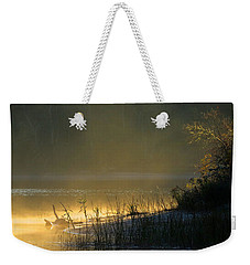 Weekender Tote Bag featuring the photograph Morning Mist by Dianne Cowen