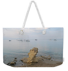 Weekender Tote Bag featuring the photograph Morning Mist 2 by George Katechis