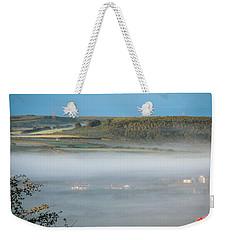 Morning Mist Over Lissycasey Weekender Tote Bag