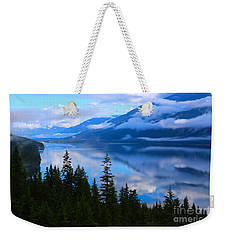 Morning Mist Rising Weekender Tote Bag