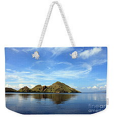 Weekender Tote Bag featuring the photograph Morning On Komodo by Sergey Lukashin