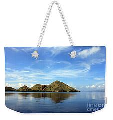Morning On Komodo Weekender Tote Bag by Sergey Lukashin
