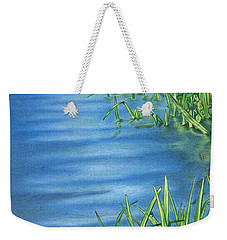 Morning On The Pond Weekender Tote Bag by Troy Levesque
