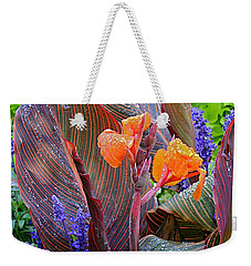 Weekender Tote Bag featuring the photograph Morning Rain by Joseph Yarbrough