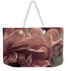 Morning Rose Weekender Tote Bag