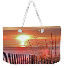 Morning Sandfire Weekender Tote Bag