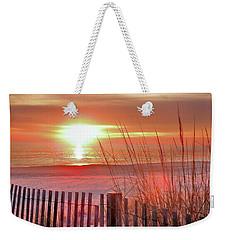 Morning Sandfire Weekender Tote Bag