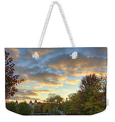 Morning Sky On The Fox River Weekender Tote Bag