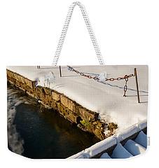 Morning Snow Weekender Tote Bag