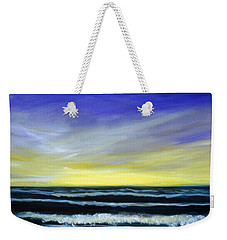 Morning Star And The Sea Oceanscape Weekender Tote Bag
