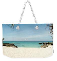 Morning Swim Weekender Tote Bag by Amar Sheow