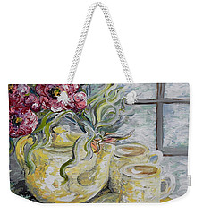 Morning Tea For Two Weekender Tote Bag
