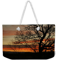 Morning View In Bosque Weekender Tote Bag