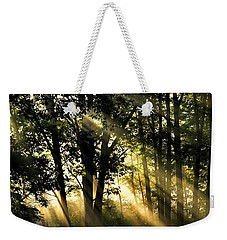 Morning Warmth Weekender Tote Bag