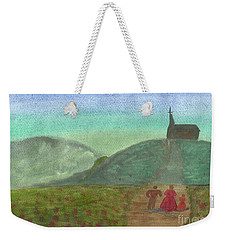 Morning Worship Weekender Tote Bag by Tracey Williams