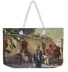 Moroccan Scene Weekender Tote Bag