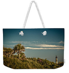 Morris Island Light Charleston Sc Weekender Tote Bag