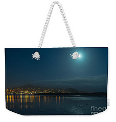Morro Bay At Night Weekender Tote Bag