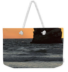Morro Beach Sunset Weekender Tote Bag
