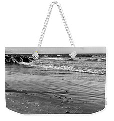 Morro Beach Walk Weekender Tote Bag