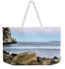 Morro Rock Morning Weekender Tote Bag