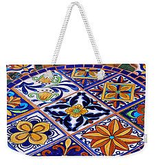 Mosaic Tile Tabletop Weekender Tote Bag