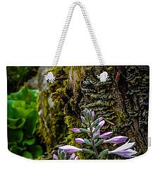 Moss And Flowers In Markree Castle Gardens Weekender Tote Bag