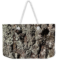 Weekender Tote Bag featuring the photograph Moss And Lichens by Jason Williamson