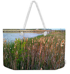 Moss Landing Washington North Carolina Weekender Tote Bag