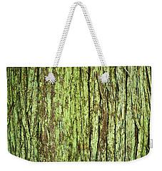 Moss On Tree Bark Weekender Tote Bag