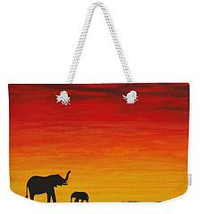 Mother Africa 1 Weekender Tote Bag by Michael Cross