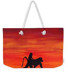 Mother Africa 4 Weekender Tote Bag by Michael Cross