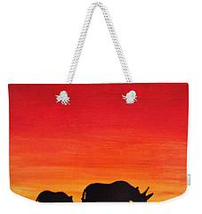 Mother Africa 5 Weekender Tote Bag by Michael Cross