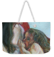 Mother And Child - Detail Weekender Tote Bag