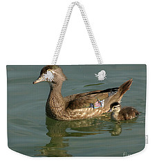 Mother And Child Weekender Tote Bag