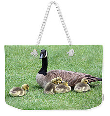 Mother And Young Weekender Tote Bag
