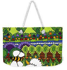 Mother Earth Weekender Tote Bag by Rojax Art