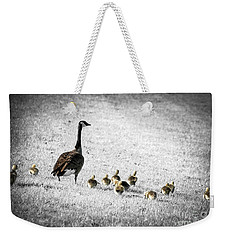 Mother Goose Weekender Tote Bag by Elena Elisseeva