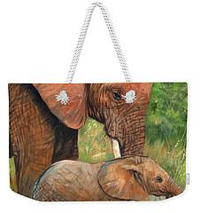 Mother Love 2 Weekender Tote Bag