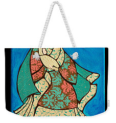 Mother Mary And Baby Jesus Weekender Tote Bag